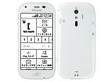 らくらくスマートフォン4 F-04J docomo [ホワイト] 製品画像