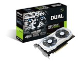 DUAL-GTX1050TI-4G [PCIExp 4GB] 製品画像
