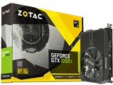 ZOTAC GeForce GTX 1050 Ti 4GB Mini ZT-P10510A-10L [PCIExp 4GB] 製品画像