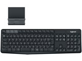 K375s Multi-Device Bluetooth Keyboard + Stand combo [ブラック/グレー]
