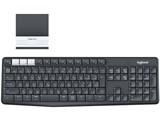 K370s Multi-Device Bluetooth Keyboard + Stand combo [ブラック/ホワイト] 製品画像
