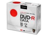 TYDR47JNP10SC [DVD-R 16倍速 10枚組] 製品画像