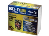 HDBDRDL260RP10SC [BD-R DL 6倍速 10枚組] 製品画像