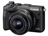 EOS M6 EF-M15-45 IS STM レンズキット [ブラック] 製品画像