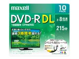 DRD215WPE.10S [DVD-R DL 8倍速 10枚組]