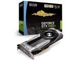 ELSA GeForce GTX 1080Ti Founders Edition GD1080-11GERT [PCIExp 11GB] 製品画像