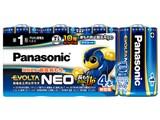 エボルタNEO アルカリ乾電池 単1形 4本パック LR20NJ/4SW