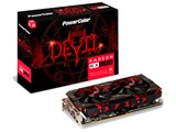 PowerColor Red Devil Radeon RX 580 8GB GDDR5 AXRX 580 8GBD5-3DH/OC [PCIExp 8GB] 製品画像