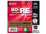 Qriom BD-RE10C [BD-RE 2倍速 10枚組]