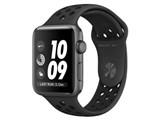 Apple Watch Nike+ Series 3 GPSモデル 42mm MQL42J/A [アンスラサイト/ブラックNikeスポーツバンド]