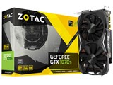 ZOTAC GeForce GTX 1070 Ti Mini ZT-P10710G-10P [PCIExp 8GB] 製品画像