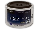 HDVBR25RP50SB [BD-R 6倍速 50枚組] 製品画像