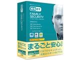 ESET ファミリー セキュリティ まるごと安心パック 1年版