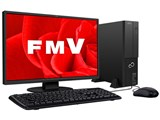 FMV ESPRIMO DHシリーズ WD2/C1 KC_WD2C1_A054 Core i7・メモリ32GB・SSD 1TB+HDD 3TB・Blu-ray・21.5型液晶搭載モデル 製品画像