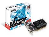 R7 240 2GD3 64b LP [PCIExp 2GB] 製品画像