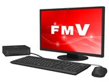 FMV ESPRIMO DHシリーズ WD1/C2 KC_WD1C2_A043 Core i7・メモリ16GB・SSD 256GB+HDD 1TB・Blu-ray・21.5型液晶・Office搭載モデル 製品画像
