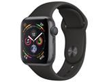 Apple Watch Series 4 GPSモデル 40mm MU662J/A [ブラックスポーツバンド] 製品画像