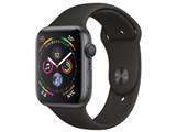 Apple Watch Series 4 GPSモデル 44mm MU6D2J/A [ブラックスポーツバンド] 製品画像