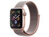 Apple Watch Series 4 GPSモデル 40mm MU692J/A [ピンクサンドスポーツループ] 製品画像