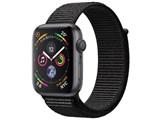 Apple Watch Series 4 GPSモデル 44mm MU6E2J/A [ブラックスポーツループ] 製品画像