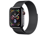 Apple Watch Series 4 GPS+Cellularモデル 44mm MTX32J/A [スペースブラックミラネーゼループ] 製品画像