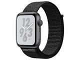 Apple Watch Nike+ Series 4 GPSモデル 44mm MU7J2J/A [ブラックNikeスポーツループ] 製品画像