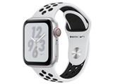 Apple Watch Nike+ Series 4 GPS+Cellularモデル 40mm MTX62J/A [ピュアプラチナム/ブラックNikeスポーツバンド]