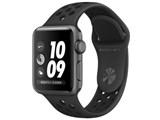 Apple Watch Nike+ Series 3 GPSモデル 38mm MTF12J/A [アンスラサイト/ブラックNikeスポーツバンド] 製品画像