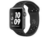 Apple Watch Nike+ Series 3 GPSモデル 42mm MTF42J/A [アンスラサイト/ブラックNikeスポーツバンド] 製品画像