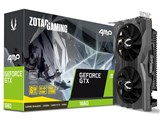 ZOTAC GAMING GeForce GTX 1660 AMP 6GB GDDR5 ZT-T16600D-10M [PCIExp 6GB]