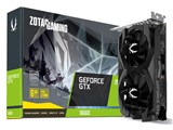 ZOTAC GAMING GeForce GTX 1660 6GB GDDR5 ZT-T16600F-10L [PCIExp 6GB] 製品画像