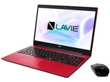LAVIE Note Standard NS700/NAR PC-NS700NAR [カームレッド] 製品画像