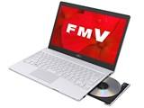 FMV LIFEBOOK SHシリーズ WS1/D2 KC_WS1D2_A036 Core i7・メモリ8GB・SSD 256GB・Blu-ray・Office搭載モデル [アーバンホワイト]