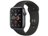 Apple Watch Series 5 GPSモデル 44mm MWVF2J/A [ブラックスポーツバンド] 製品画像