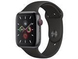 Apple Watch Series 5 GPS+Cellularモデル 44mm MWWE2J/A [ブラックスポーツバンド] 製品画像