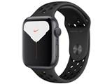 Apple Watch Nike Series 5 GPSモデル 44mm MX3W2J/A [アンスラサイト/ブラックNikeスポーツバンド] 製品画像