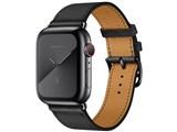 Apple Watch Hermes Series 5 GPS+Cellularモデル 44mm シンプルトゥール MWWM2J/A [ヴォー・スウィフト(黒)レザーストラップ] 製品画像
