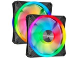 iCUE QL140 RGB Dual Fan Kit with Lighting Node CORE CO-9050100-WW