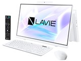 LAVIE Home All-in-one HA770/RAW PC-HA770RAW [ファインホワイト] 製品画像