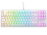 K4 TKL RGB WHITE 赤軸 [ホワイト]
