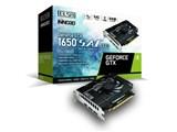 ELSA GeForce GTX 1650 S.A.C DDR6 GD1650-4GERSD6 [PCIExp 4GB] 製品画像