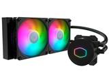 MasterLiquid ML240L V2 ARGB MLW-D24M-A18PA-R2 [ブラック] 製品画像