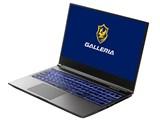 GALLERIA GR2060RGF-T Ryzen 7 4800H/RTX2060/15.6インチ フルHD 120Hz/メモリ16GB/NVMe SSD 512GB K/09453-10a 製品画像
