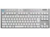 G913 TKL LIGHTSPEED Wireless RGB Mechanical Gaming Keyboard-Tactile G913-TKL-TCWH [ホワイト] 製品画像