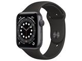 Apple Watch Series 6 GPSモデル 44mm M00H3J/A [ブラックスポーツバンド] 製品画像