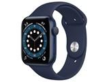 Apple Watch Series 6 GPSモデル 44mm M00J3J/A [ディープネイビースポーツバンド] 製品画像