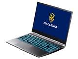 GALLERIA XL7C-R36 Core i7 10875H/RTX 3060/15.6インチ フルHD 144Hz/16GBメモリ/NVMe SSD 512GB K/09853-10a 製品画像