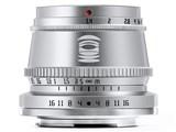 TTArtisan 35mm f/1.4 C シルバー [マイクロフォーサーズ用]