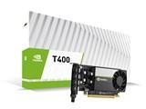 NVIDIA T400 ENQT400-2GER [PCIExp 2GB] 製品画像