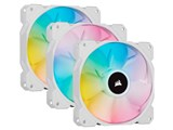 iCUE SP120 RGB ELITE with iCUE Lighting Node CORE Triple Pack CO-9050137-WW [ホワイト]
